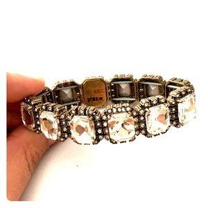 J. Crew Factory Bejeweled Bracelet